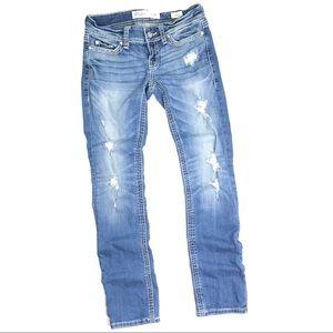 BKE Distressed Stella Jeans Size 26R
